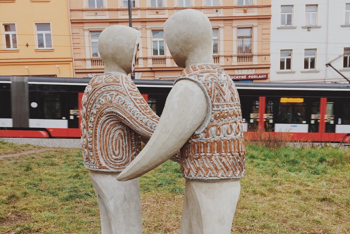 Prague Folk Sculptures